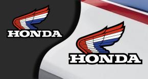 Stickers aile honda 3 (PARADISE Déco)