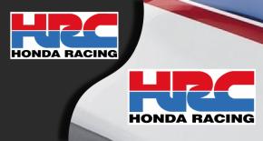 Stickers honda HRC (PARADISE Déco)