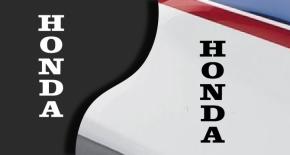 stickers logo honda 3 (PARADISE Déco)