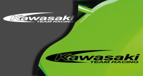 Stickers kawasaki racing team (PARADISE Déco)