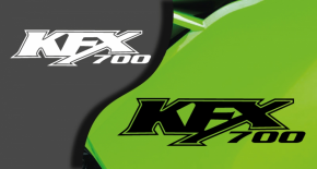 Stikers kawasaki KFX 700 (PARADISE Déco)