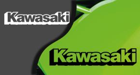 Stickers logo kawasaki 3 (PARADISE Déco)