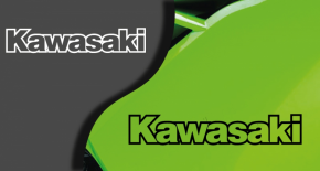 Stickers logo kawasaki 4 (PARADISE Déco)