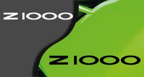 Stickers kawasaki Z1000 (PARADISE Déco)