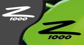 Stickers kawasaki Z1000 2 (PARADISE Déco)