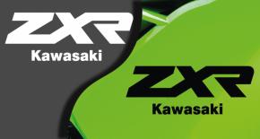 Stickers ZXR kawasaki (PARADISE Déco)