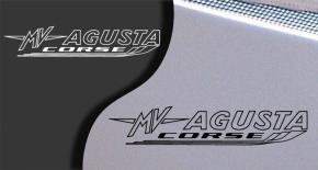 Stickers MV Agusta corse 2 (PARADISE Déco)