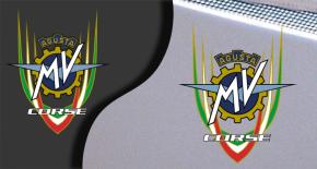 Stickers MV Agusta corse 4 (PARADISE Déco)