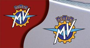Stickers logo MV Agusta (PARADISE Déco)