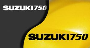Stickers suzuki 750 (PARADISE Déco)