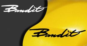 Stickers suzuki bandit 2 (PARADISE Déco)