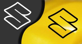 Stickers logo suzuki (PARADISE Déco)