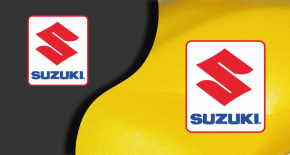 Stickers logo suzuki 4 (PARADISE Déco)