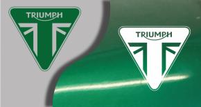 Stikers logo triumph 2 (PARADISE Déco)