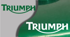 Stickers logo triumph 3 (PARADISE Déco)