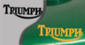 Stickers logo triumph 5 (PARADISE Déco)