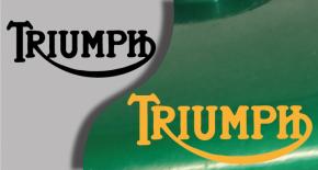 Stickers logo triumph 7 (PARADISE Déco)