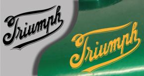 Stickers logo triumph 9 (PARADISE Déco)