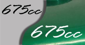 Stickers triumph 675cc (PARADISE Déco)