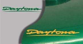 Stickers triumph daytona (PARADISE Déco)
