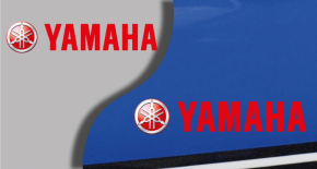 Stickers logo yamaha (PARADISE Déco)