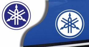 Stickers logo yamaha 4 (PARADISE Déco)