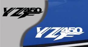Stickers yamaha YZF 450 (PARADISE Déco)