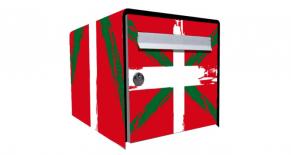 Stickers boite aux lettres basque (PARADISE Déco)