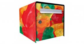 Stickers boite aux lettres teddy candy (PARADISE Déco)