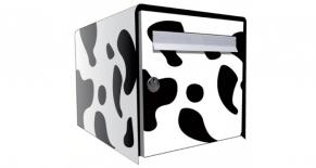 Stickers boite aux lettres vache (PARADISE Déco)
