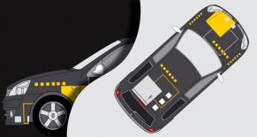 Stickers Renault clio RS2 (PARADISE Déco)