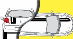 Stickers Renault Clio Cup (PARADISE Déco)