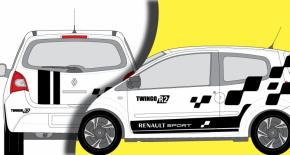 Stickers Renault Twingo R2 (PARADISE Déco)