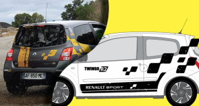 Stickers Renault Twingo R2 Rally edition (PARADISE Déco)
