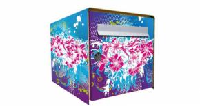 Stickers face avant boite flower (PARADISE Déco)