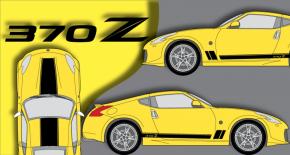 Stickers Nismo 370z (PARADISE Déco)