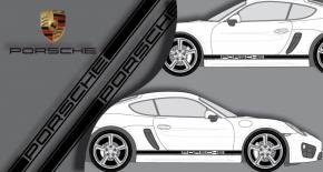 Stickers Porsche latéral (PARADISE Déco)