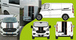 kit ford transit custom 180cv complet (PARADISE Déco)