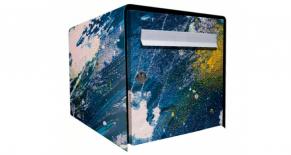 Stickers boite aux lettres oil paint (PARADISE Déco)