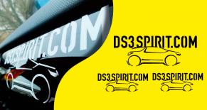 Stickers citroen DS3 spirit kit 2 (PARADISE Déco)