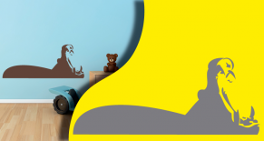 Stickers hippo (PARADISE Déco)