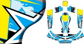 Kit déco karting KG evo race (PARADISE Déco)