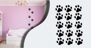 Stickers patte de chien (PARADISE Déco)