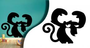 Stickers personnage comic 4 (PARADISE Déco)