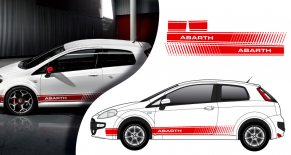 Stickers Fiat punto abarth (PARADISE Déco)