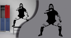 Stickers rugby haka (PARADISE Déco)