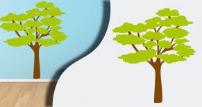 Stickers savane arbre (PARADISE Déco)
