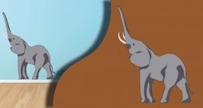 Stickers savane elephant (PARADISE Déco)