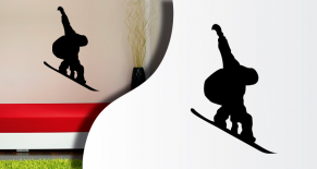 Stickers snowboard2 (PARADISE Déco)