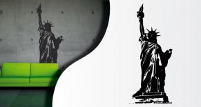 Stickers statue de la liberté (PARADISE Déco)
